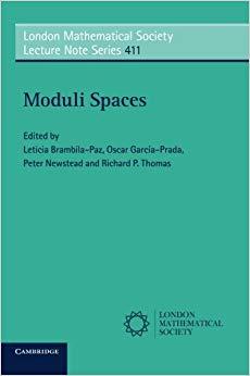 Moduli spaces
